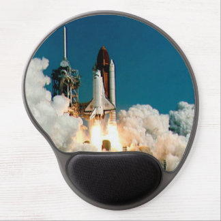 NASA Space Shuttle launch, Rocket Mouse Pad Gel Mouse Pad