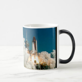 NASA Space Shuttle launch, Rocket Mug