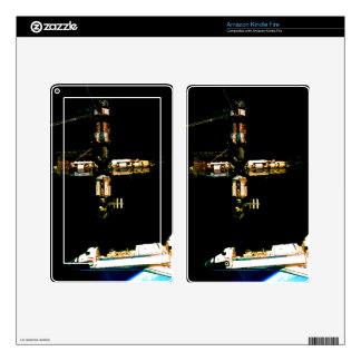 nasa space shuttle outer space skin for kindle fire