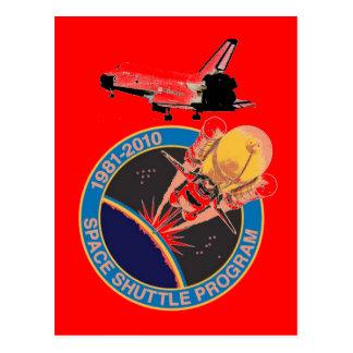 NASA Space Shuttle Program 1981-2010 Postcard
