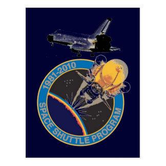 NASA Space Shuttle Program Postcard