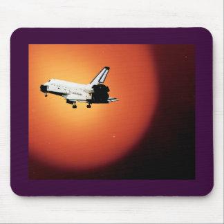 Nasa Space Shuttle Sun Mouse Pads