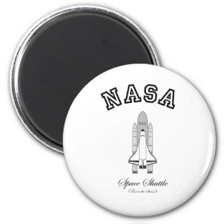 NASA Space Shuttle: Taxi to the Stars! 2 Inch Round Magnet