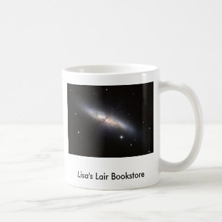 NASA - Starburst Galaxy M82 Bookstore Promo Coffee Mug