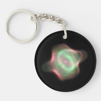 NASA Stingray Nebula (Hubble) Double-Sided Round Acrylic Keychain