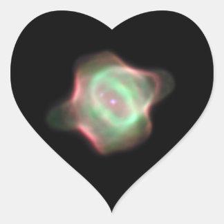 NASA Stingray Nebula (Hubble) Heart Sticker