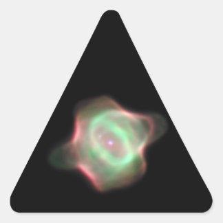 NASA Stingray Nebula (Hubble) Triangle Sticker