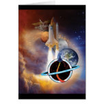 NASA STS-114 Shuttle Mission Roster- 2005 Greeting Card