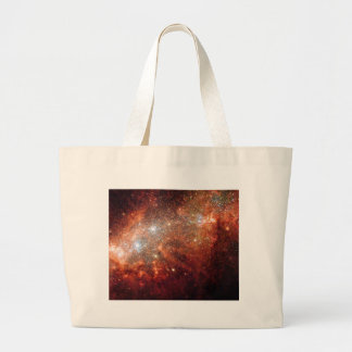 NASA - Supernova Bonanza in Nearby Galaxy NGC1569 Large Tote Bag