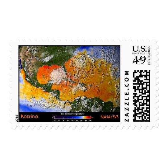 NASA/SVS, Katrina Postage