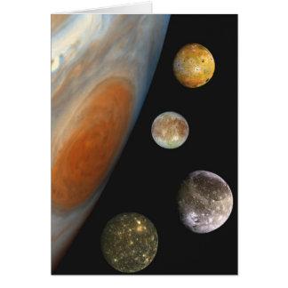 NASA / The Jovian System. Card