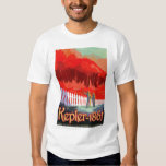 NASA Travel Poster - Kepler 186f Tee Shirt