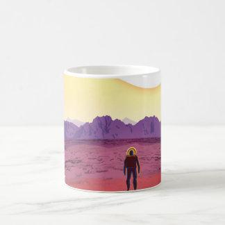 NASA Travel Poster - Relax on Kepler 16b Coffee Mug