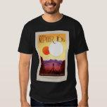 NASA Travel Poster - Relax on Kepler 16b Shirt