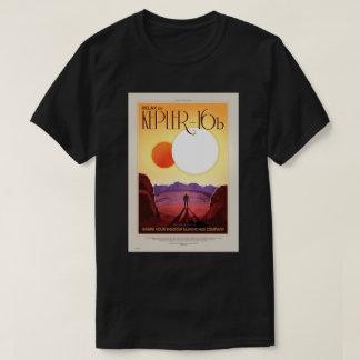 NASA Travel Poster - Relax on Kepler 16b T-Shirt