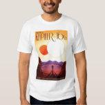 NASA Travel Poster - Relax on Kepler 16b Tee Shirt