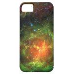 NASA trífida Spitzer de la nebulosa iPhone 5 Cárcasas