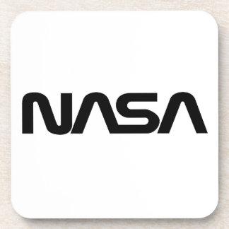 NASA Worm Logo Beverage Coaster