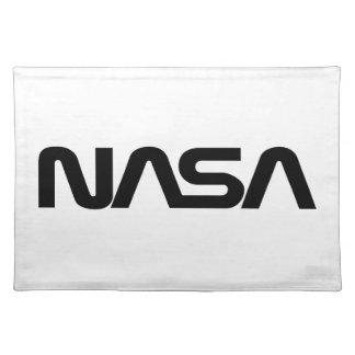 NASA Worm Logo Cloth Place Mat