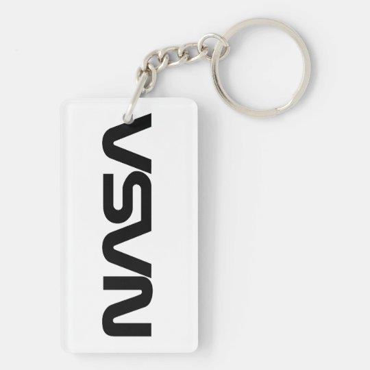 NASA Worm (Snake) Logo Keychain