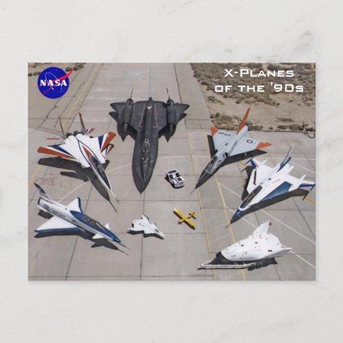 NASA X_Planes of the 1990s Postcards