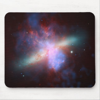 NASA - X-ray-Visible-Infrared Image of M82 Mouse Pad