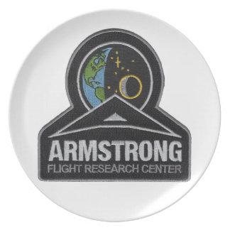 NASA's AFRC Logo Dinner Plate