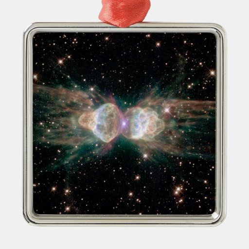 NASAs Ant Nebula Metal Ornament