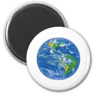NASAs Big Blue Marble 2 Inch Round Magnet