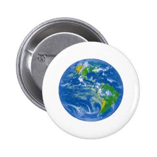 NASAs Big Blue Marble Pinback Button
