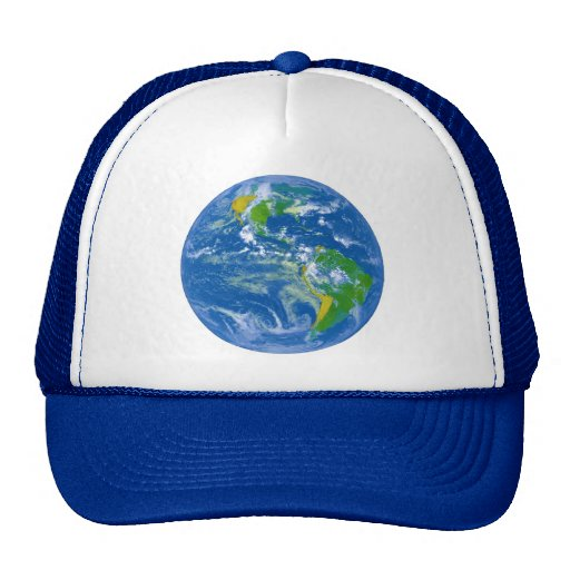 NASAs Big Blue Marble Trucker Hat