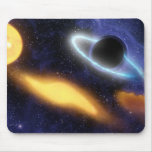 NASAs Black hole grabs starry snack Mouse Pad