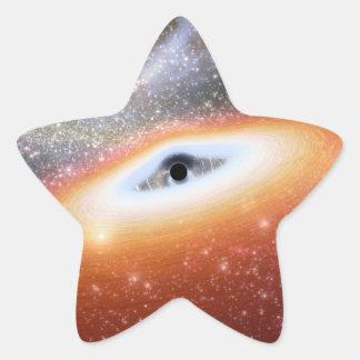 NASA's Black Hole Star Sticker