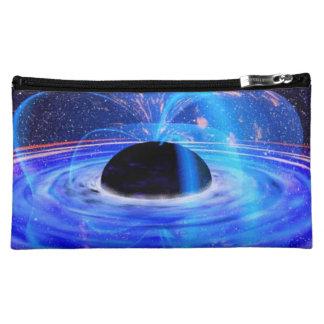 Nasa's Blue Black Hole Cosmetic Bag