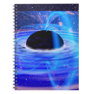 Nasa's Blue Black Hole Notebook