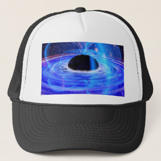 Nasa's Blue Black Hole Trucker Hat
