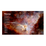 NASAs Carina Nebula Business Card