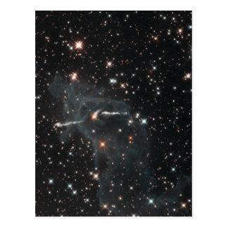 NASAs Carina Nebula Post Card