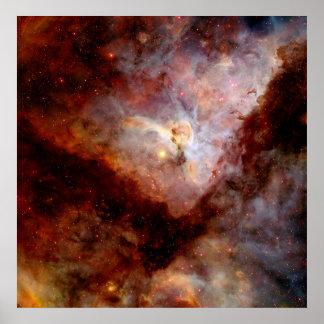 NASAs Carina Nebula Print
