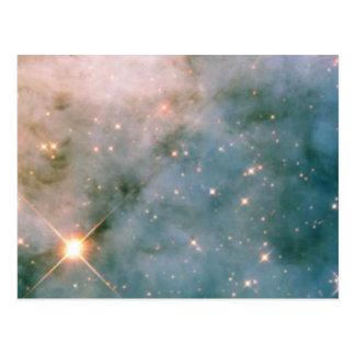 NASAs Carina Nebulae in space Post Card