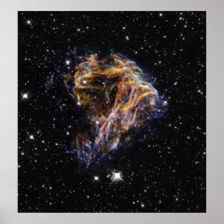 NASAs Celestial fireworks Poster