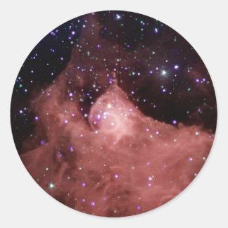 NASAs Cepheus_B Round Sticker