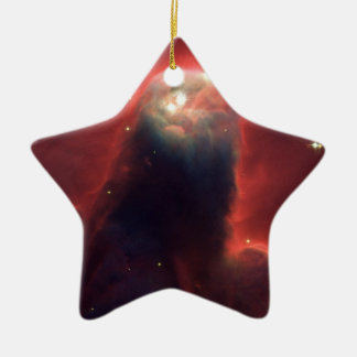 NASAs  Cone Nebula Ceramic Ornament