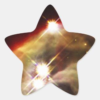 NASAs Cone Nebula Star Sticker