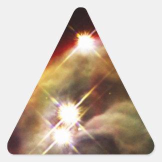 NASAs Cone Nebula Triangle Stickers