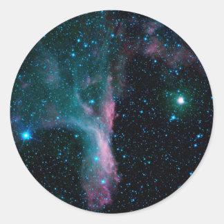 NASAs Cosmic Dancer Classic Round Sticker