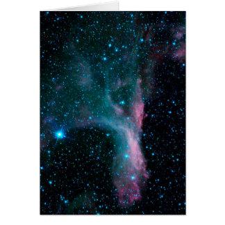 NASAs Cosmic Dancer Greeting Card