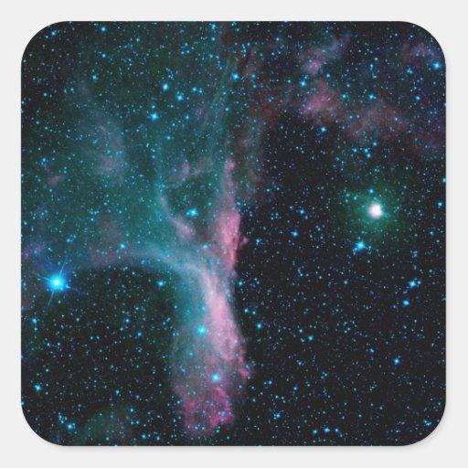 NASAs Cosmic Dancer Square Sticker