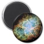 NASAs Crab Nebula Fridge Magnet
