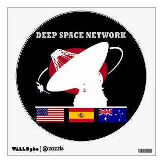 NASA's DSN Wall Decal